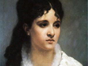 Mel Bonis à l'âge de 27 ans, par Charles-Auguste Corbineau, 1885